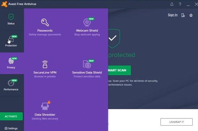 Avast Privacy