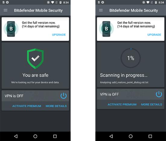 Bitdefender Mobile Security.