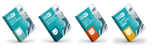 Eset Antivirus Packages - for Mac, Android, and Windows 10.