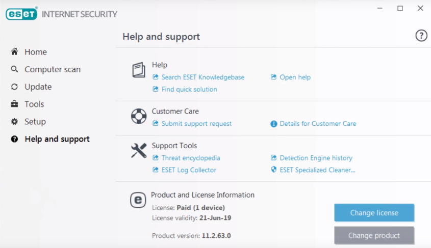 eset free antivirus scan