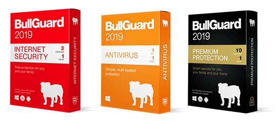 Bullguard packages 2019