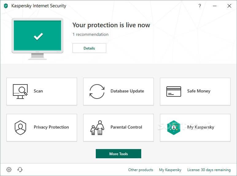 Kaspersky Live Protection