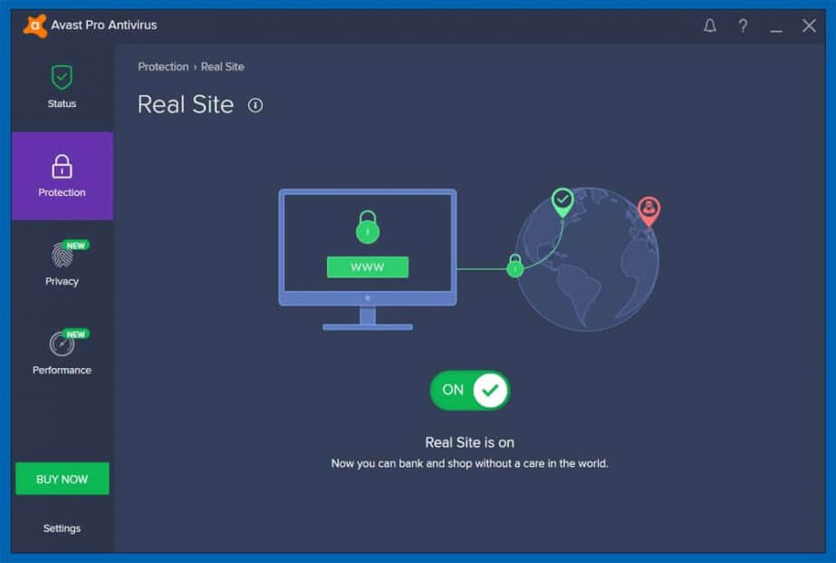Avast Real Time Protection