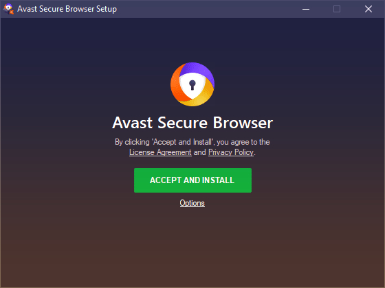 Avast Secure Browser Install - full review