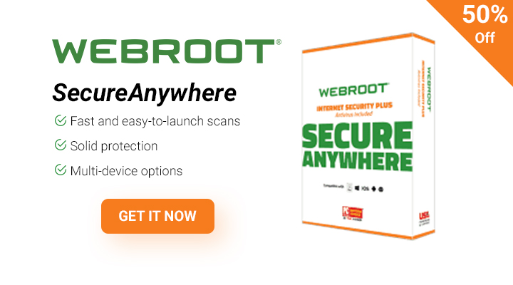 Wevroot for Less, Webroot Deal.