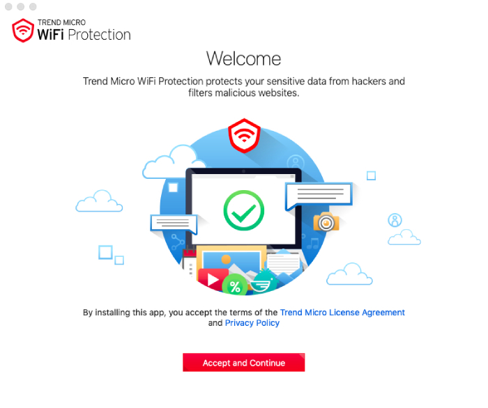 Trend Micro WiFi Protection.