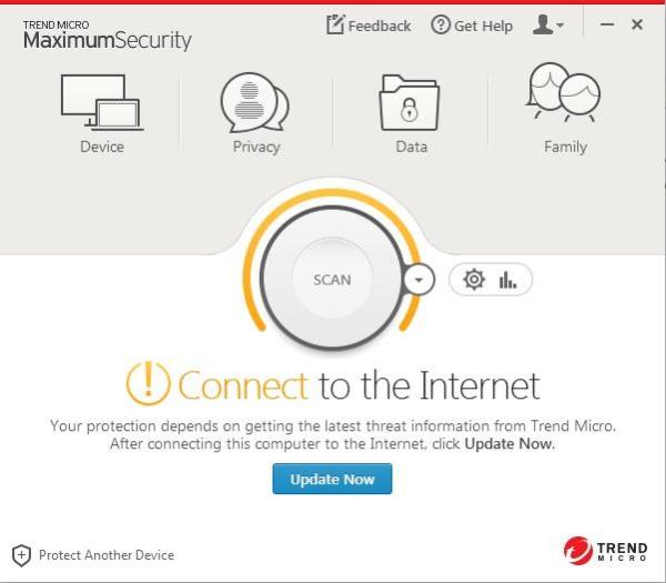 Trend Micro Maximum Security.