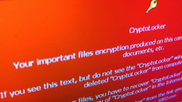 how cryptolocker works