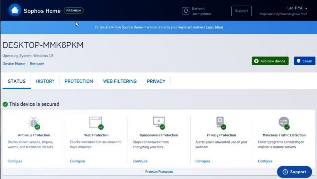 Sophos Antivirus: Home and Premium Review.