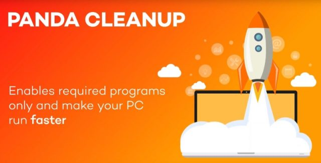 Panda CleanUp makes your PC run faster.
