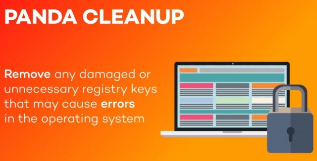 Panda CleanUp removes registry keys that may cause errors.
