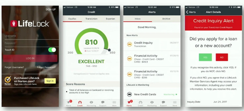 LifeLock Review: Facts, Pros&Cons, lifelock for android and iphone