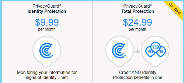 PrivacyGuard identity theft protection, PrivacyGuard Identity Protection vs TotalProtection