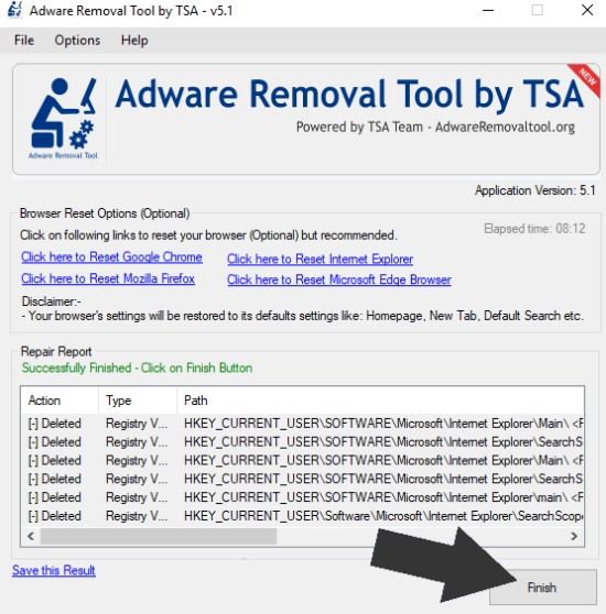 adware cleaner, best adware cleaner, TSA removal tool, adwcleaner