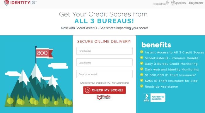 IdentityIQ Credit Monitoring.