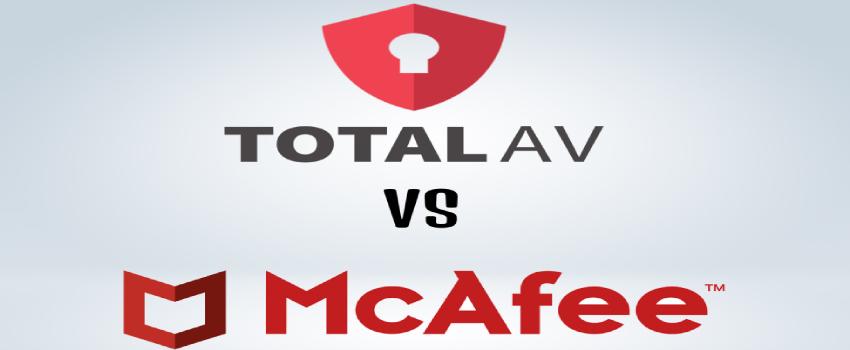 TotalAV vs McAfee Comparison.