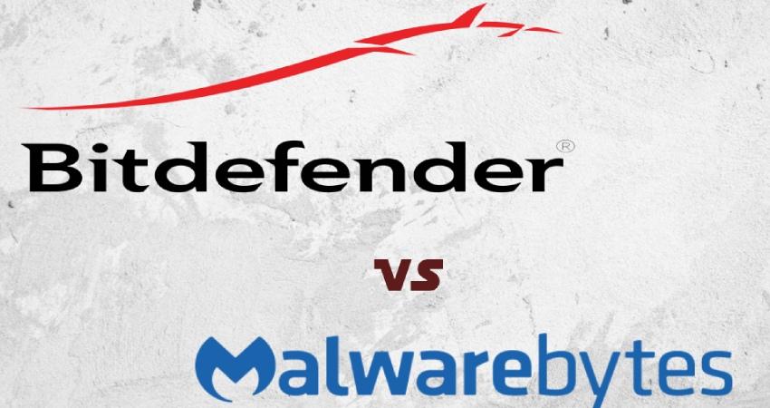 Bitdefender vs Malwarebytes Comparison.
