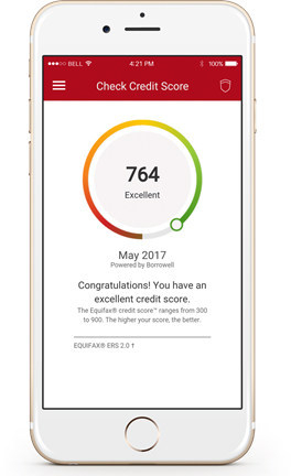 Equifax Mobile Apps.