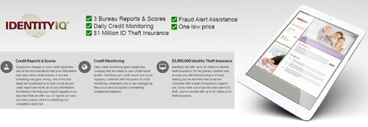 IdentityIQ Identity Theft Insurance.
