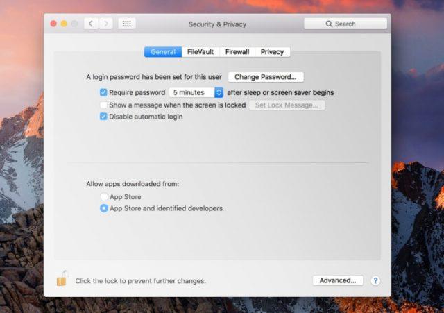 Mac's Built-In Protection, Gatekeeper.