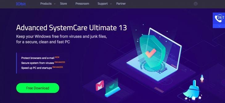 What is IObit Advanced System Care.