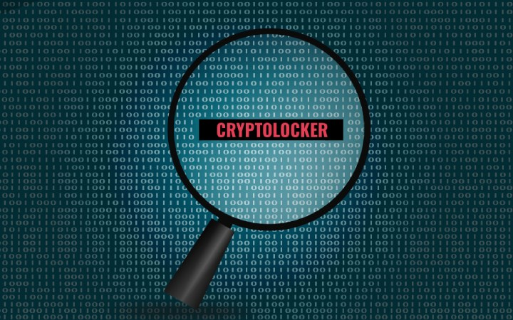 Cryptolocker Malware.